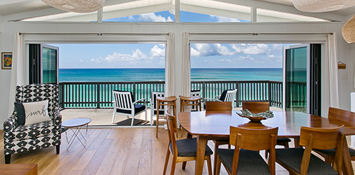 $2,690,000  – Beach Front North Shore Legal Vacation Rental