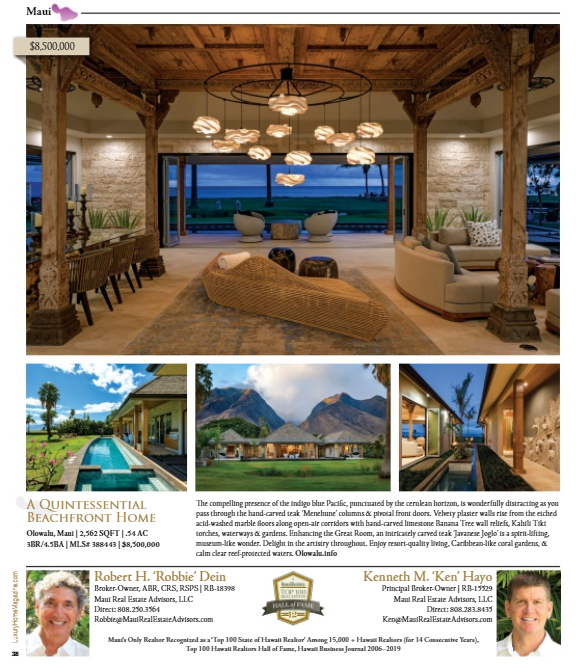 Luxury Home Magazine 15.6 Page 38