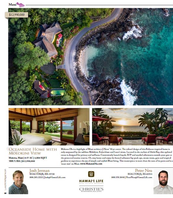 Luxury Home Magazine 15.4 Page 22